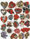 Whitney's Valentine Material Kit Ornaments