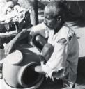 Man Creating Earthenware Vessel