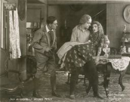 Owen Moore, Ogden Crane, and Mary Pickford in 