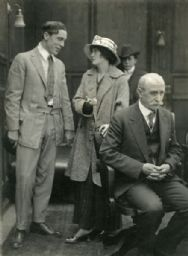 Jack Conway, Irene Hunt, Vester Pegg, and Charles Lee in