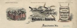 William Rahr Sons' Co. Letterhead