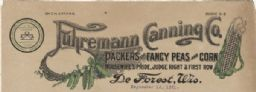 Fuhremann Canning Co. Memohead