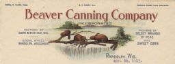 Beaver Canning Company Letterhead