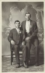 Studio Portrait of Two Men