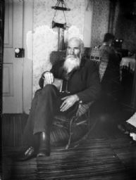 Portrait of Man in Rocking Chair