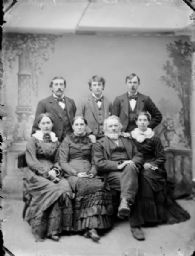 Studio Portrait of Group of People