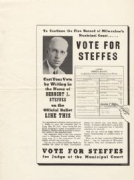 Vote For Steffes