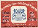 Union Made Beer, Label