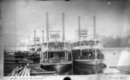 Steamboats at Dock