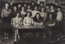 Neighborhood House Activities Scrapbook: Gamma Delta Club