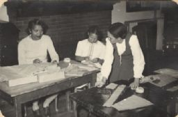 Neighborhood House Activities Scrapbook: Adult Sewing Group