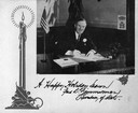 Fred R. Zimmerman Christmas Card