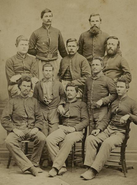 1st Wisconsin Cavalry Company K Civil War