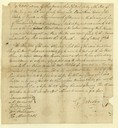 Letter of Gilbert Imlay