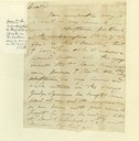 Letter to Daniel Boone