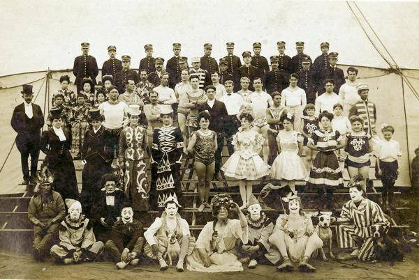 Norris & Rowe Circus Personnel