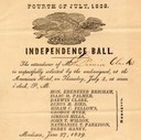 Invitation to Independence Ball