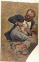 Wounded Union Civil War Soldier