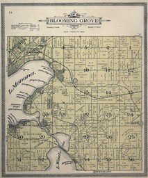 Plat Map of Blooming Grove