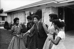 Daisy Bates and Four of the Little Rock Nine
