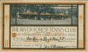 Frank Lloyd Wright's River Forest Tennis Club Membership Card