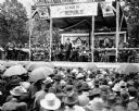 William Jennings Bryan Addressing Crowd