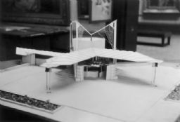Gas Station Model Designed by Frank Lloyd Wright