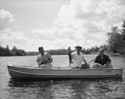 Men Fishing with Murrow