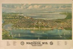 Bird's-Eye View of Madison