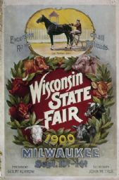 Wisconsin State Fair Poster 1900