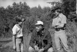 Gaylord Nelson Chats With Boys
