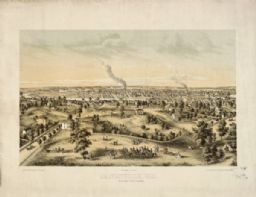Bird's-Eye View of Janesville