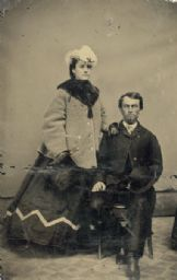 Alexander Simplot and His Wife