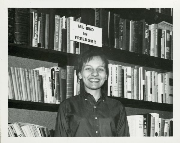 Diane Nash in Louisville, Kentucky, February, 1963, Carl and Anne Braden Paper, WHS