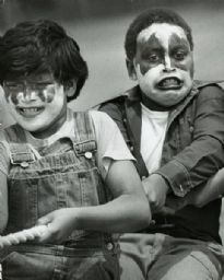 Boys in KISS Makeup