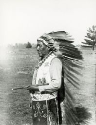 Menominee Indian Performer