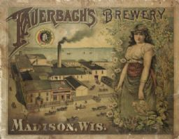Fauerbach's Brewery Sign