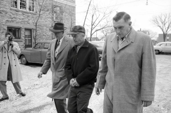 Ed Gein's Arrest | Photograph | Wisconsin Historical Society