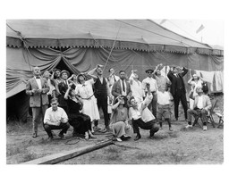 Circus Performers Gather to View Eclipse