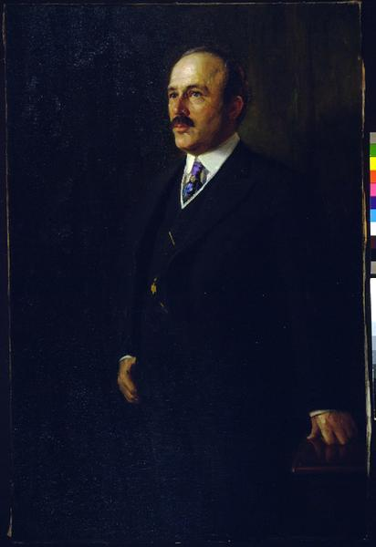 Portrait of Francis E. McGovern, Republican, the 22nd Governor of Wisconsin, 1911-1915.