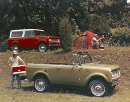 Camping with the International Scout