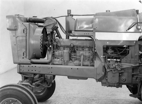 Farmall 766 tractor engine | Photograph | Wisconsin