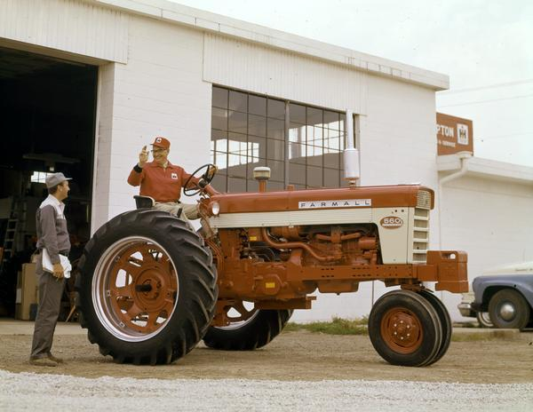 International Harvester Dealers : Farmall tractor photograph wisconsin historical