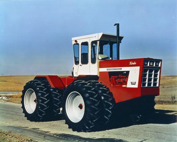 International 4366 Turbo Tractor