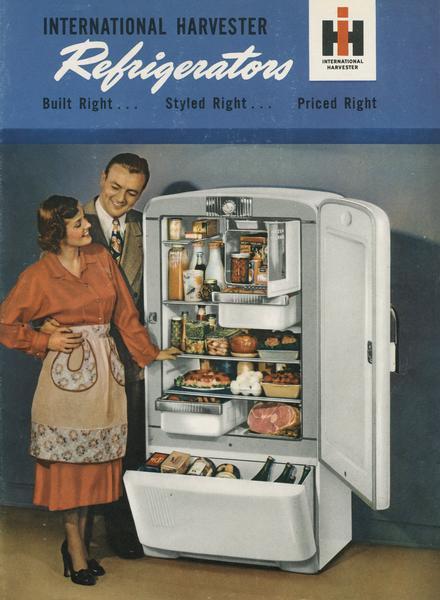 international harvester refrigerator brochure