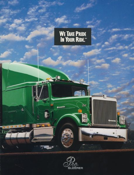 International Eagle Pro Sleeper Semi Truck