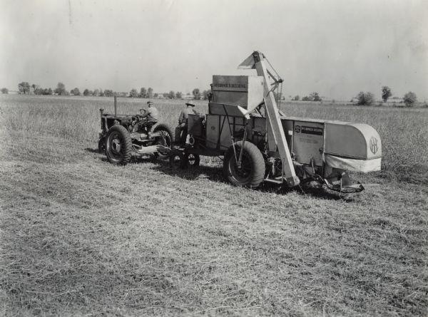 Deering Harvester Company : Mccormick deering no harvester thresher combine