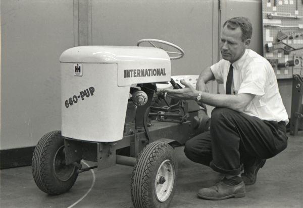 [DIAGRAM_3ER]  Man with International Cub Cadet | Photograph | Wisconsin Historical Society | International 464 Tractor Wiring Diagram |  | Wisconsin Historical Society