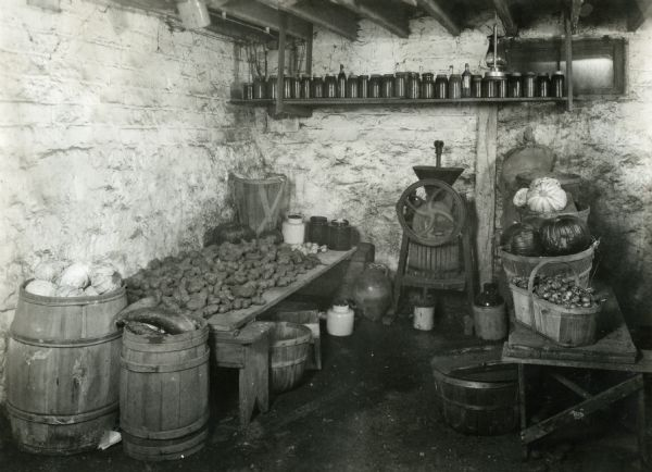 Image result for historic barrel storage photographs