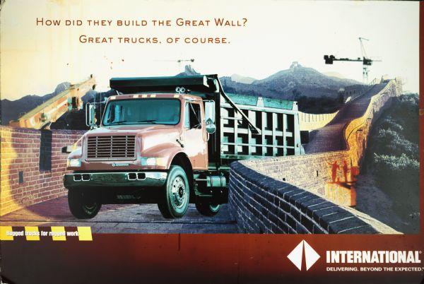 International Trucks Great Wall Poster | Poster | Wisconsin